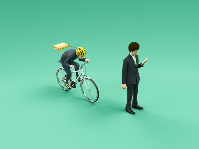 自転車の危険運転