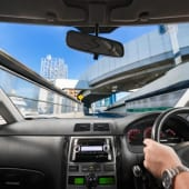 運転席の風景