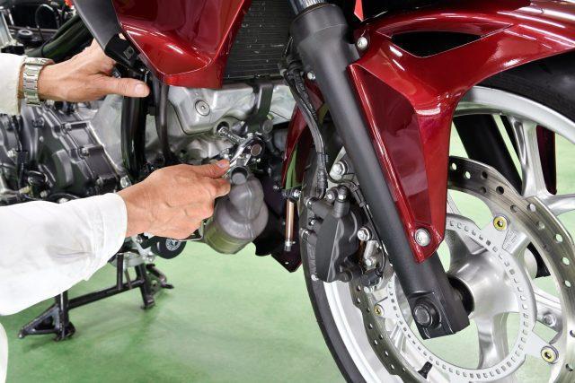 死亡事故防止のバイク整備