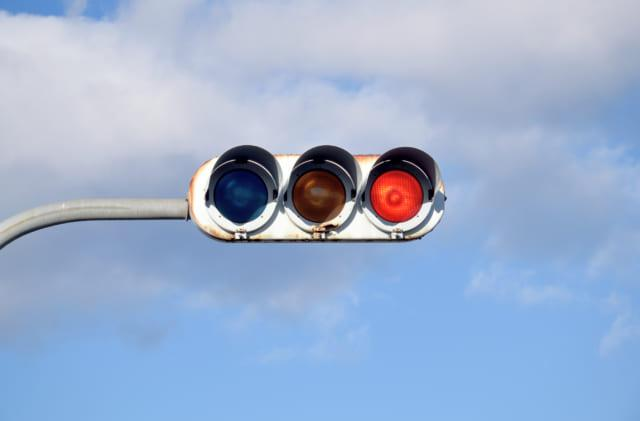 信号無視の交通事故