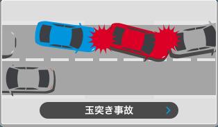 玉突き事故